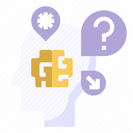 Doubt, intelligence, knowledge, problem, question icon - Download on Iconfinder