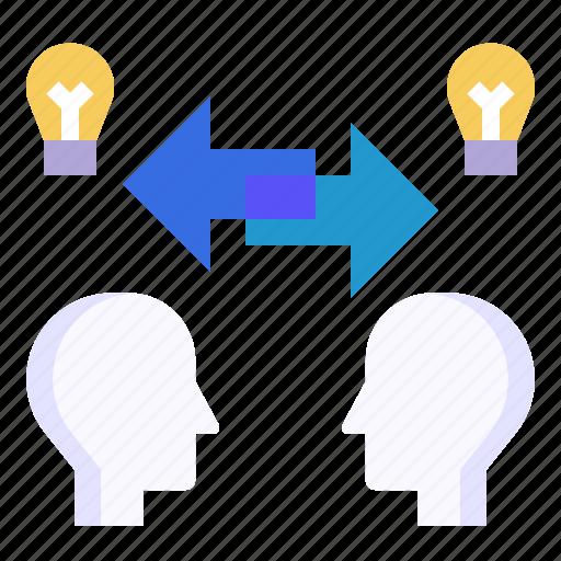 bounce, communications, exchange, partnership, sharing icon
