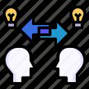 bounce, communications, exchange, partnership, sharing
