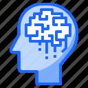 brain, head, idea, science, thinking