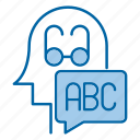 abc, basic, education, knowledge icon