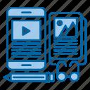creative, ebook, knowledge, learn, read, study icon