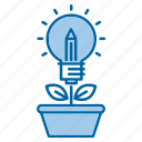 creative, growth, idea, investments, knowledge, learn, study icon