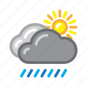 icon, koodeku, set, weather icon
