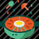 bibimbap, cooking, food, healthy, korea, restaurant, vegetable icon