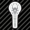 keychain, korean, kpop, light, lightstick, oh my girl, stick icon