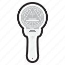 dreamcatcher, keychain, korean, kpop, light, lightstick, stick icon
