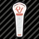 keychain, korean, kpop, light, lightstick, red velvet, stick icon