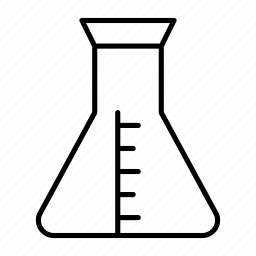 experiment, flask, lab, laboratory, science icon