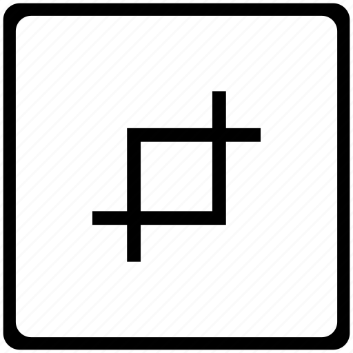 crop, edit, image, instrument, photo icon