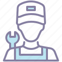 avatar, labor, labour, mechanic icon
