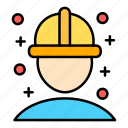 engineer, mechanical, construction, architecture, employee, worker, constractor icon