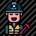 engineer, profession, job, labor, construction, worker, building