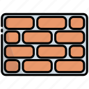 brickwall, bricks, brick, wall, construction