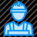 builder, labour, man, worker icon