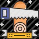 carpenter, hacksaw, handsaw, repair, saw, tools icon