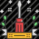 repair, screw driver, screwdriver, settings, wrench icon