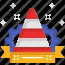 bollards, cone, construction, traffic cone, transportation, urban icon
