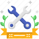construction, maintenance, repair, tools, work, wrench icon