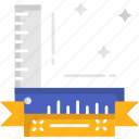 angle, measurement, measuring, right angle, ruler icon