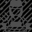 labor, labor woman, woman, women, worker icon