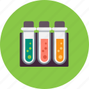chemistry, experiment, flask, laboratory, science, test, tube