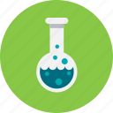 experiment, flask, lab, laboratory, test, tube