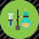 chemistry, experiment, flask, lab, laboratory, test, tube