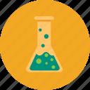 chemistry, experiment, flask, laboratory, medical, test, tube