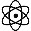 atom, laboratory, molecule, molecules, science icon