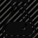 beaker, chemistry, laboratory, science icon