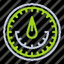 gauge, indicator, laboratory equipment, performance, speed icon