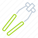 equipment, laboratory equipment, tongs, tool icon
