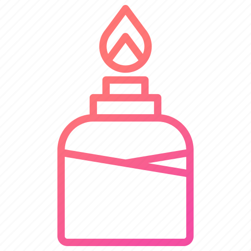 alcohol, bottle, burner, flame, laboratory equipment icon