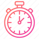 chronometer, laboratory equipment, schedule, stopwatch, timepiece icon