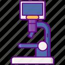 digital, laboratory, microscope