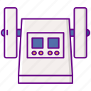 friability, laboratory, tester icon