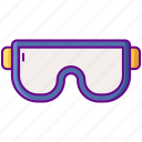 goggles, laboratory, safety