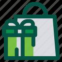 box, door prize, gift, present