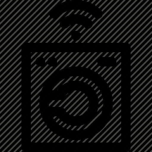 Machine, smart, technology, washing icon - Download on Iconfinder