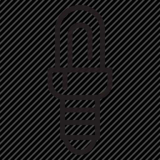 bulb, electronic, lamp, light icon