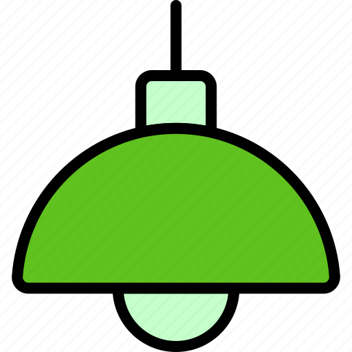 Bulb, hanging, lamp, light, lightbulb, pendant icon - Download on Iconfinder