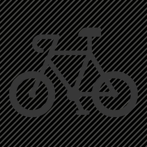 bicycle, bike, traffic, transport, vehicle icon