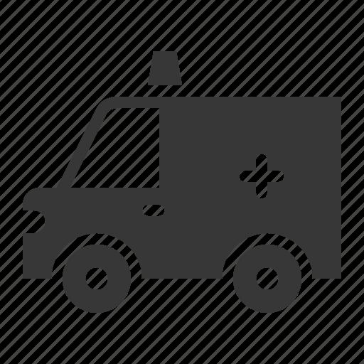 Ambulance, car, traffic, transport, vehicle icon - Download on Iconfinder