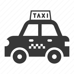 car, taxi, traffic, transport, vehicle icon
