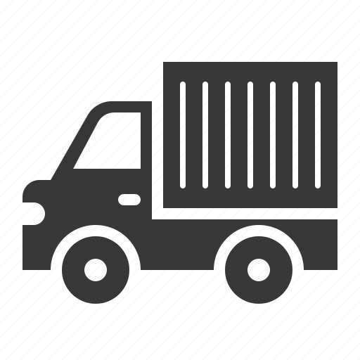 container truck, traffic, transport, truck, vehicle icon