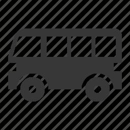 traffic, transport, van, vehicle icon
