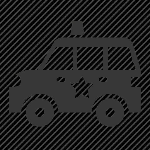 car, patrol car, police car, traffic, transport, vehicle icon