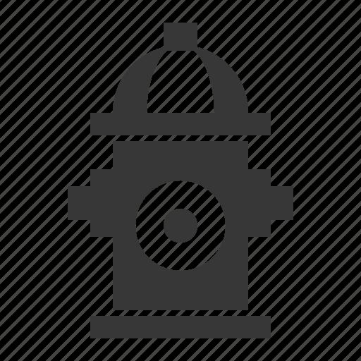 fire hydrant, fire pump, fireplug, transport icon