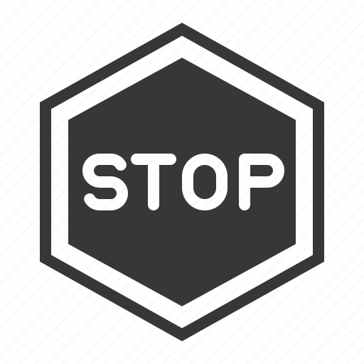 road signs, sign, stop, stop sign, transport icon